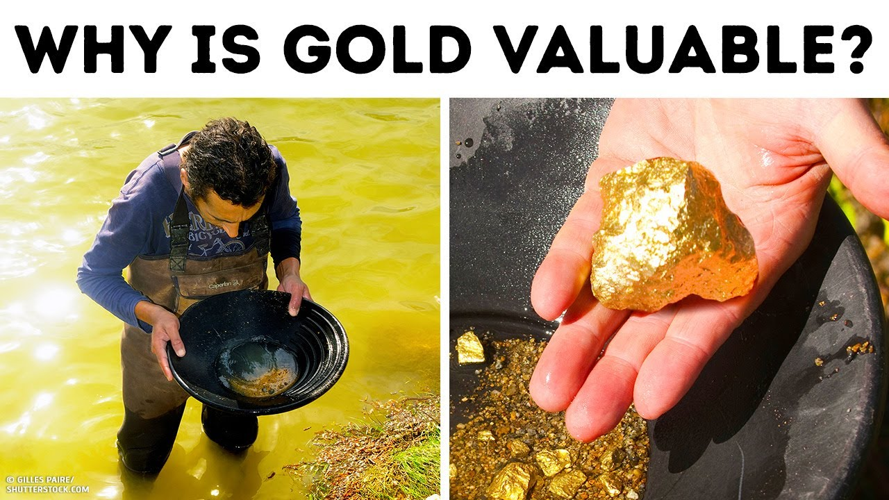 Gold isn't Rare Like you Think, so Why's it Expensive