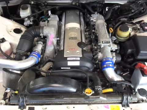 1JZ GTE VVTI & R154 5 Speed ~ 1999 JZX100 ~ 114,294 kms ~ Stock # JS188 ~  Engine Running