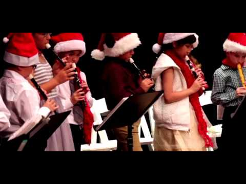 Mary Law Private School 2016 Christmas Concert 7. Silver Bells