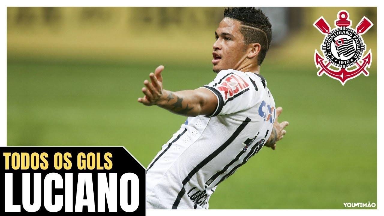 Atacante Luciano Todos Os Gols Pelo Corinthians Youtube