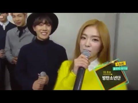BTS J-HOPE FANBOYING TO RED VELVET COMPILATIONS