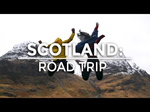 SCOTLAND: ROAD TRIP   THE TRAVEL TWO