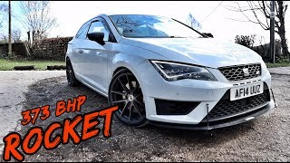 THIS *TUNED SEAT LEON CUPRA* IS A ROCKET!!