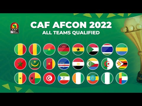 AFRICAN CUP OF NATIONS 2021 (2022): ALL TEAMS QUALIFIED | CAF AFCON