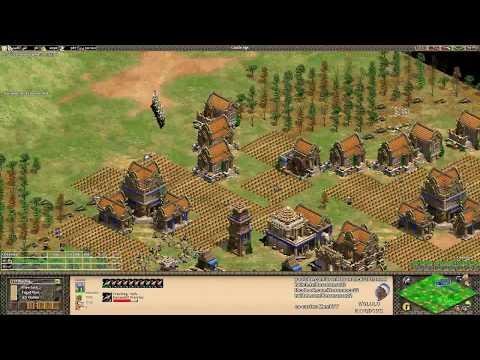 Aoe2: Slam vs Spring (Game #3) - King of the Desert w/ Memb