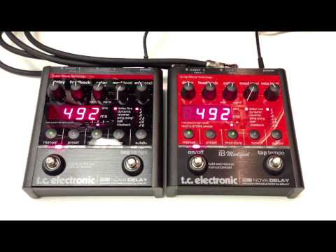 TC Electronic Nova Delay vs iB Modified ND-1