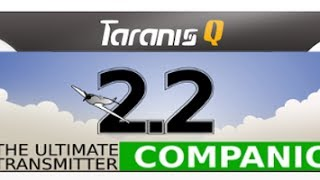 taranis q x7 quick start downloading installing companion opentx 2 2 sd card audio sound