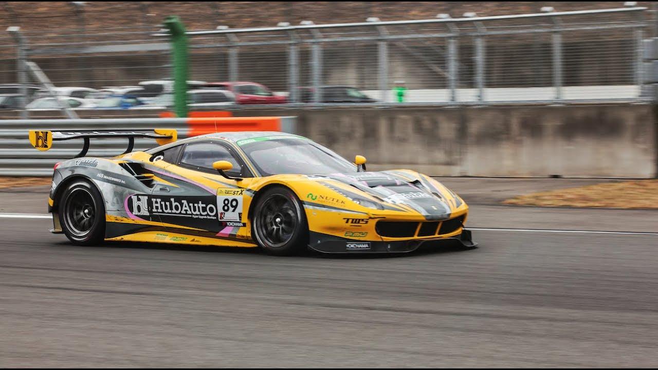 Ollie Millroy - Motegi - Ferrari 488 GT3 - YouTube