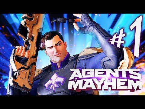 Agents of Mayhem - Parte 1: Salvando o Mundo .. SQN [ PC - Playthrough ]