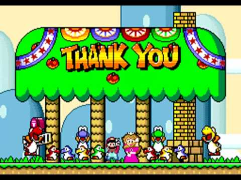 Ending Theme 10 Hours Super Mario World Youtube