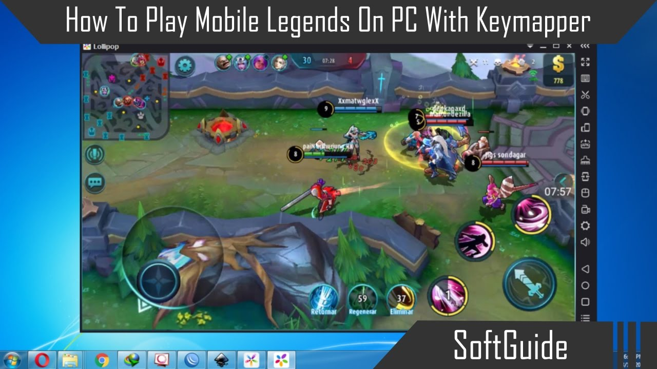 How To Play Mobile Legends On Pc
