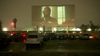 The drive-in theater thrives, for a time