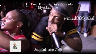Repeat youtube video The Rappin n Sippin Show : Mystikal live at Club Scandals
