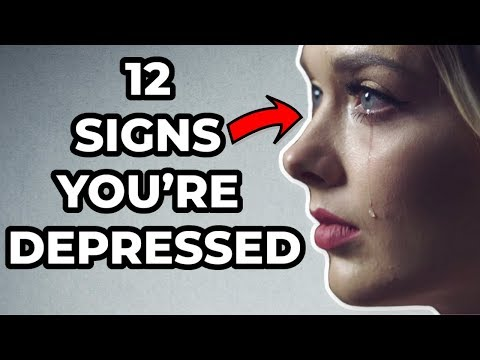 12 Signs You're Depressed