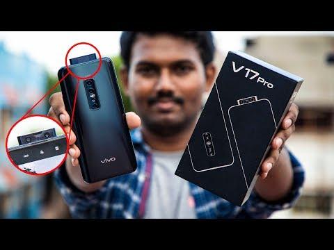 இப்படி ஒரு போன் பார்த்திருகீங்களா! | Vivo V17 Pro Unboxing & First Impresstion in Tamil