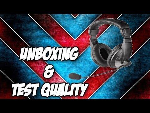 UNBOXING Trust Quasar Headset ITA
