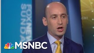 After A Week Of Firestorm, The WH Sends In Stephen Miller | Morning Joe | MSNBC thumbnail