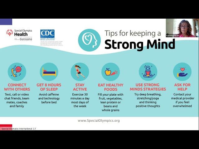 Wellness Wednesday: April 7 2021- Strong Minds with Candace Aulick