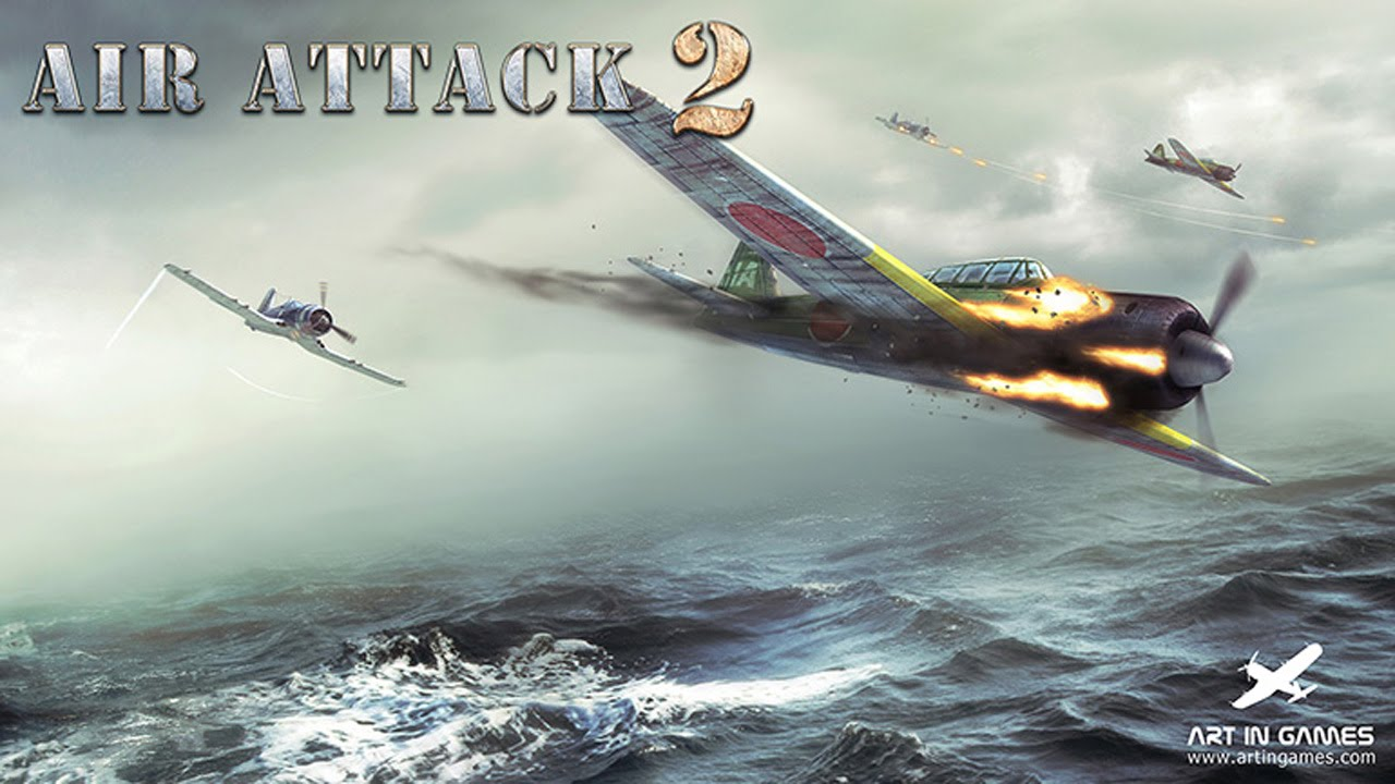 AirAttack 2 Gameplay IOS / Android