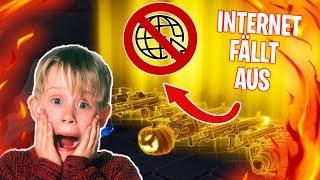 INTERNET GEHT AUS während ich BLACK SCAR trade!!! | Scammer Test - Fortnite RDW
