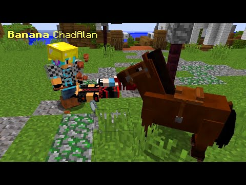 MINECRAFT SURVIVAL GAMES | RADIOJH GAMES & GAMER CHAD