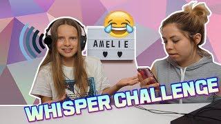 WHISPER CHALLENGE!! z kuzynką  / Amelie