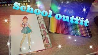 School oufit♥~Lucia de Vries~Topmodel.biz~