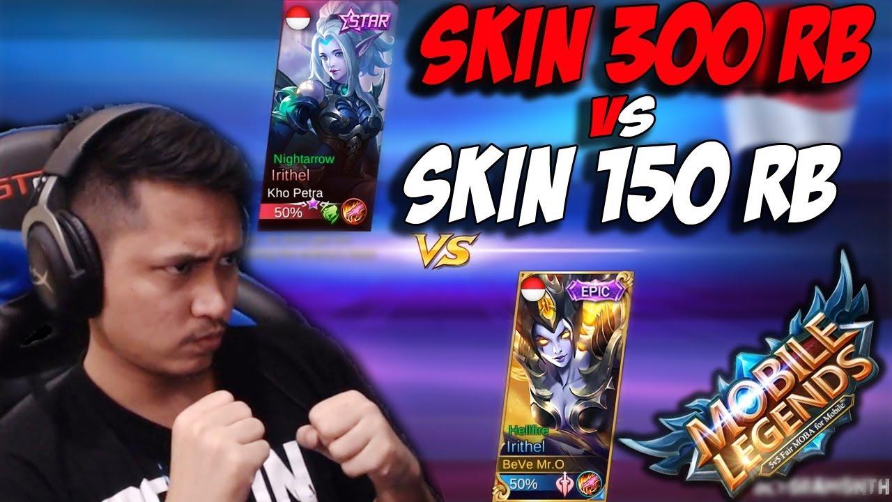 New Skin Starlight Irithel Vs Skin Epic Irithel Jadi Kocak Mobile Legends Indonesia Day
