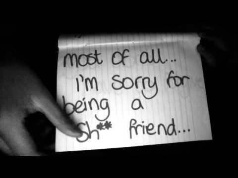 My 'sorry' video to my best friend, Daisy