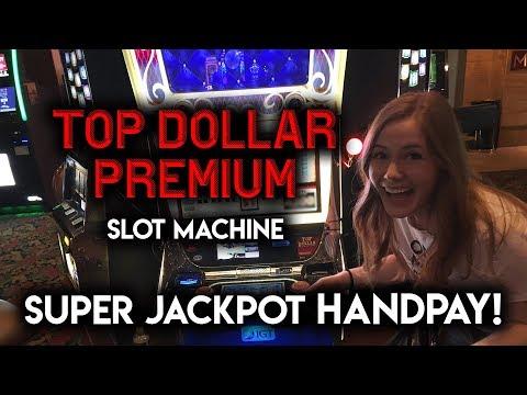 Top dollar premium slot machine
