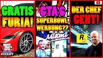 🙌Alle Neuen Inhalte!🙌 FURIA Gratis! GTA 6 Spot? Houser GEHT + Mehr! [GTA 5 Online Casino Heist DLC]