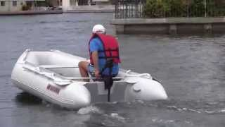 SATURN 11' SD330 boat with 12V 55lbs electric motor