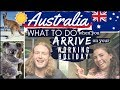 AUSTRALIA WORKING HOLIDAY // EXACTLY What you NEED to do when you arrive?