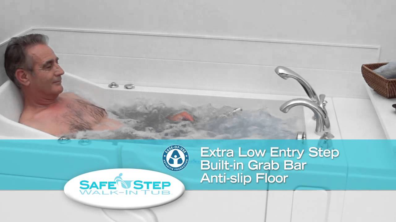 Safe Step Walk In Tubs 1-800-NEW-TUBS - YouTube