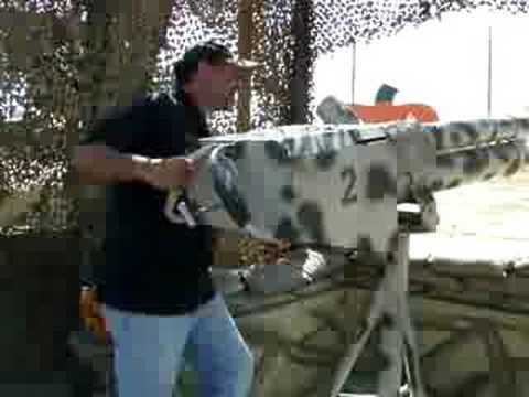 Pumpkin Blaster (Cannon) - DellOsso Farms Lathrop