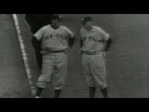 1952WS GM7: Mize gives Yankees lead in the 4th inning