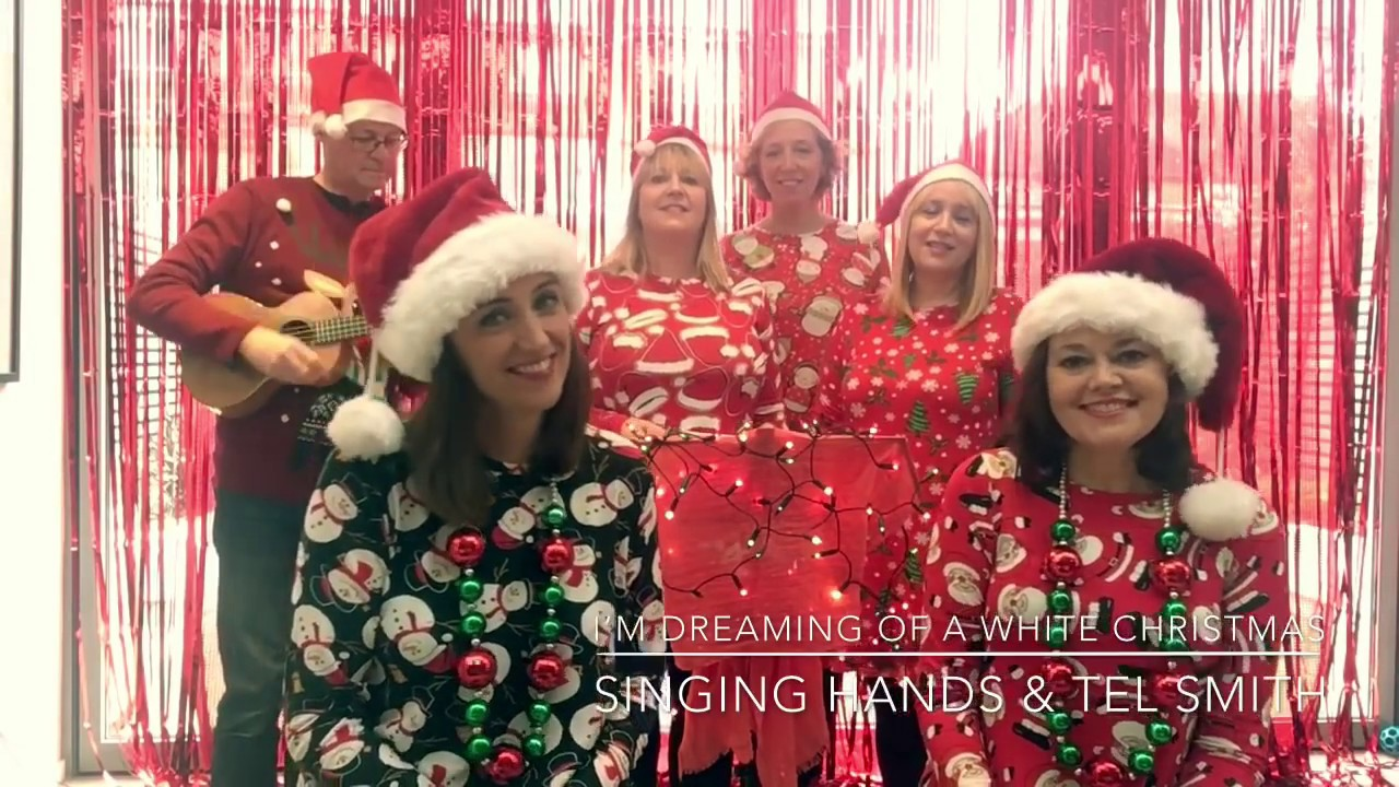 A White Christmas.Singing Hands White Christmas Makaton Sign Language Live Version