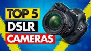 Top 5 Best DSLR Camera of [2020]