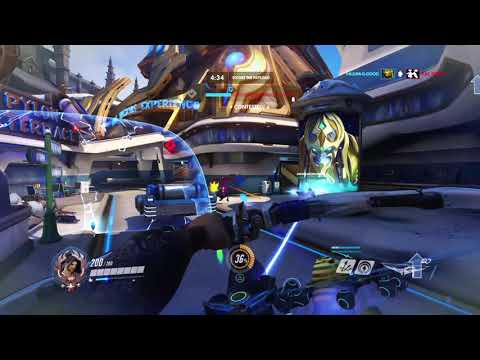 Overwatch: hanzo match
