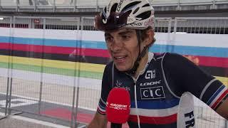 Guillaume Martin - interview d'arrivée - WCh. Imola 2020