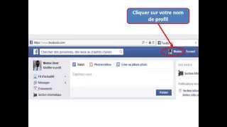 comment récupérer son url facebook