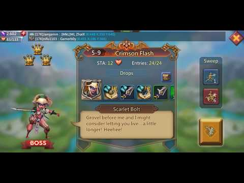 Getting Hero Medals With Less STA#Lords Mobile