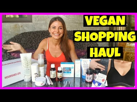 Vegan Shopping Haul: Makeup, Moon cup, Bra, Skin, Hair & Health