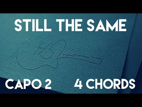 How To Play Still The Same by Sugarland | Capo 2 (4 Chords) Guitar Lesson