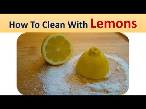 How To Clean With Lemons | Lemon Home Remedies for  Whitening Skin