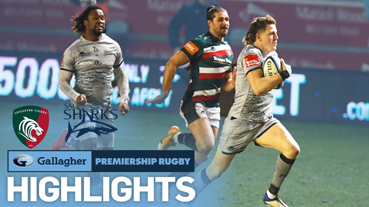 Leicester v Sale - HIGHLIGHTS | Comeback Win In Top Half Clash  | Gallagher Premiership 2020/21