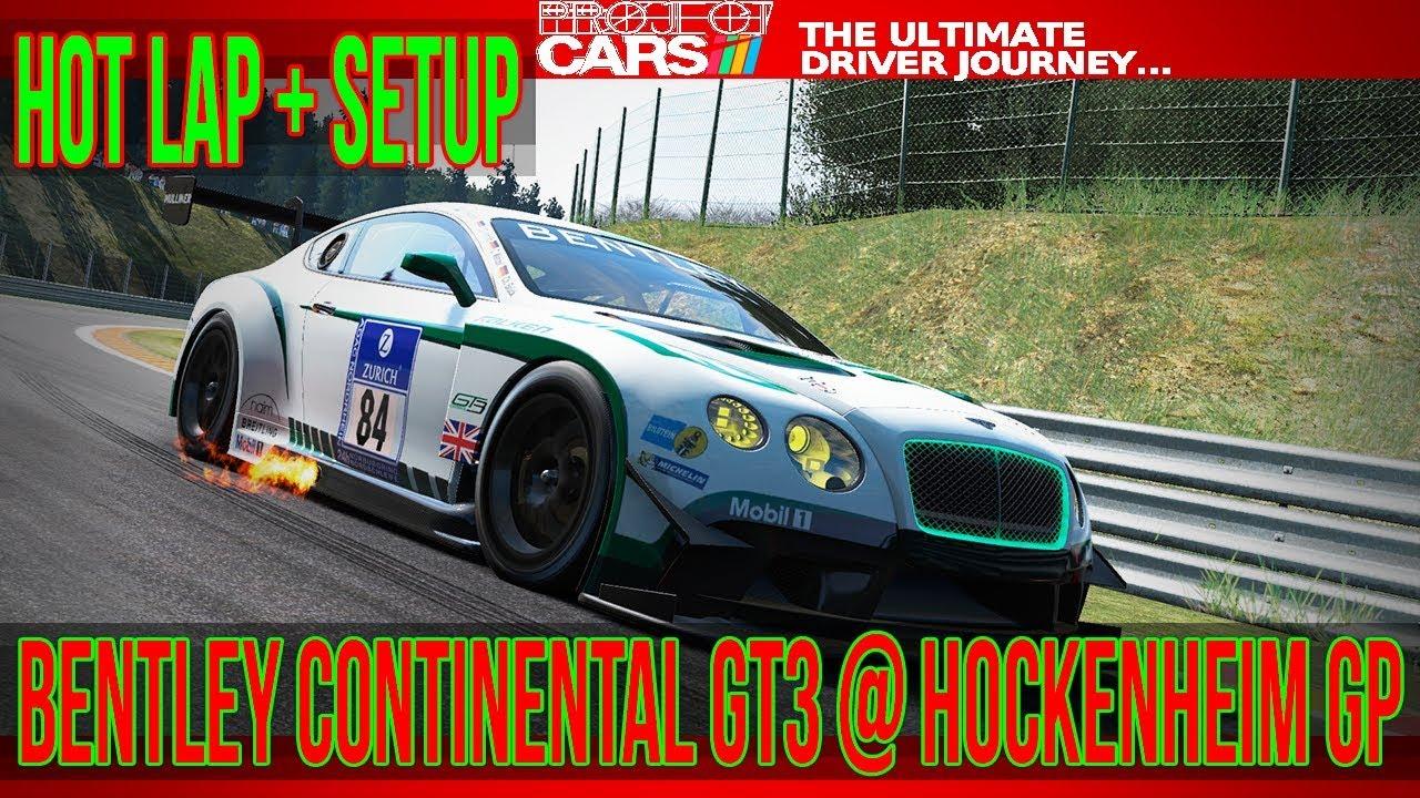 project cars - bentley continental gt3 @ hockenheim gp - 1:39.511