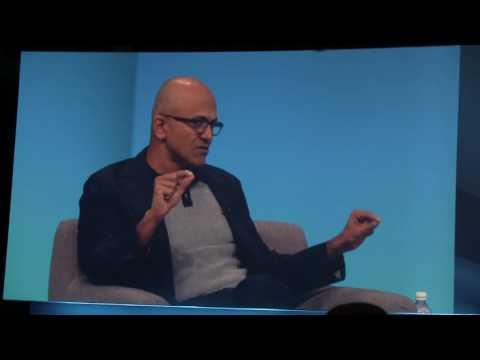 CEO2CEO: Satya Nadella (Microsoft) and Dion Weisler (HP) at #newHPGPC