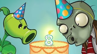 8th Birthday Pinata Party Special Quest #2 - Plants Vs Zombies 2