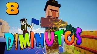 UNA BRUJA CON SORPRESAS!!  #DIMINUTOS | Episodio 8 | Minecraft Supervivencia